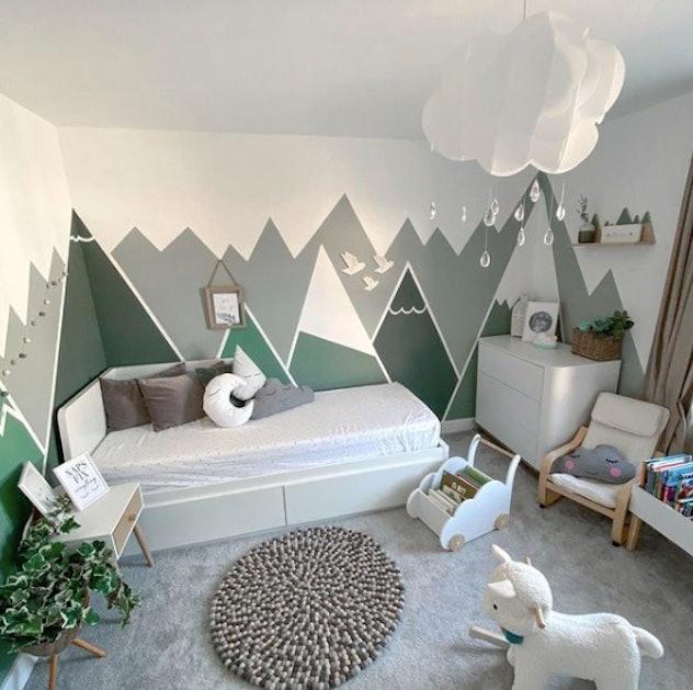 Mountain themed nursery