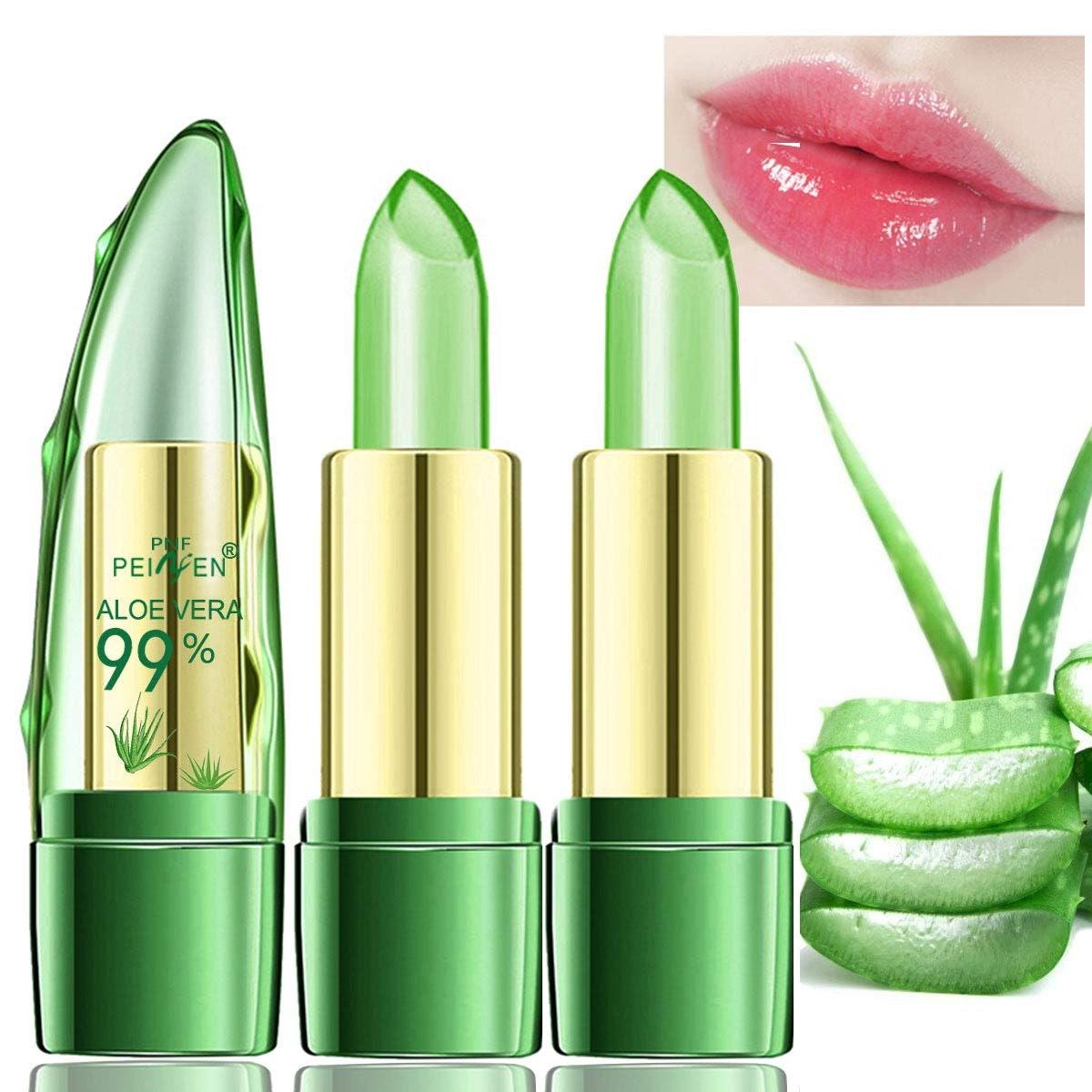 Amazfly Aloe Vera Lipstick (2-Pack)