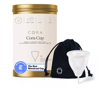 'The Cora Cup' Menstrual Cup - Size 2