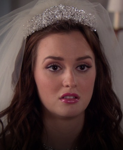 Oh, Prince Louis. Even if that marriage went south real quick and didn't last long, Blair was a legitimate princess and had a bedazzled tiara to match.