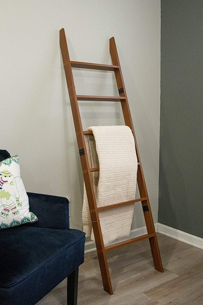 Relodecor Wall Leaning Blanket Ladder (6-Foot)