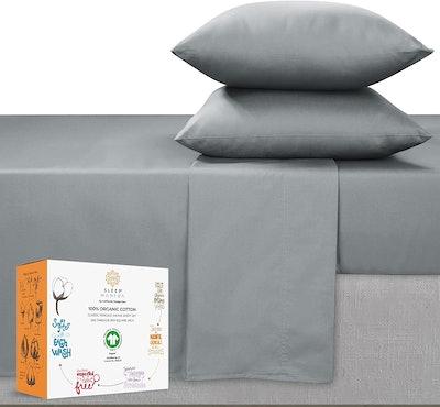 Sleep Mantra Organic Cotton Sheets (Queen)