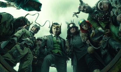 Tom Hiddleston as President Loki, a reference to the Vote Loki comics in 'Loki'