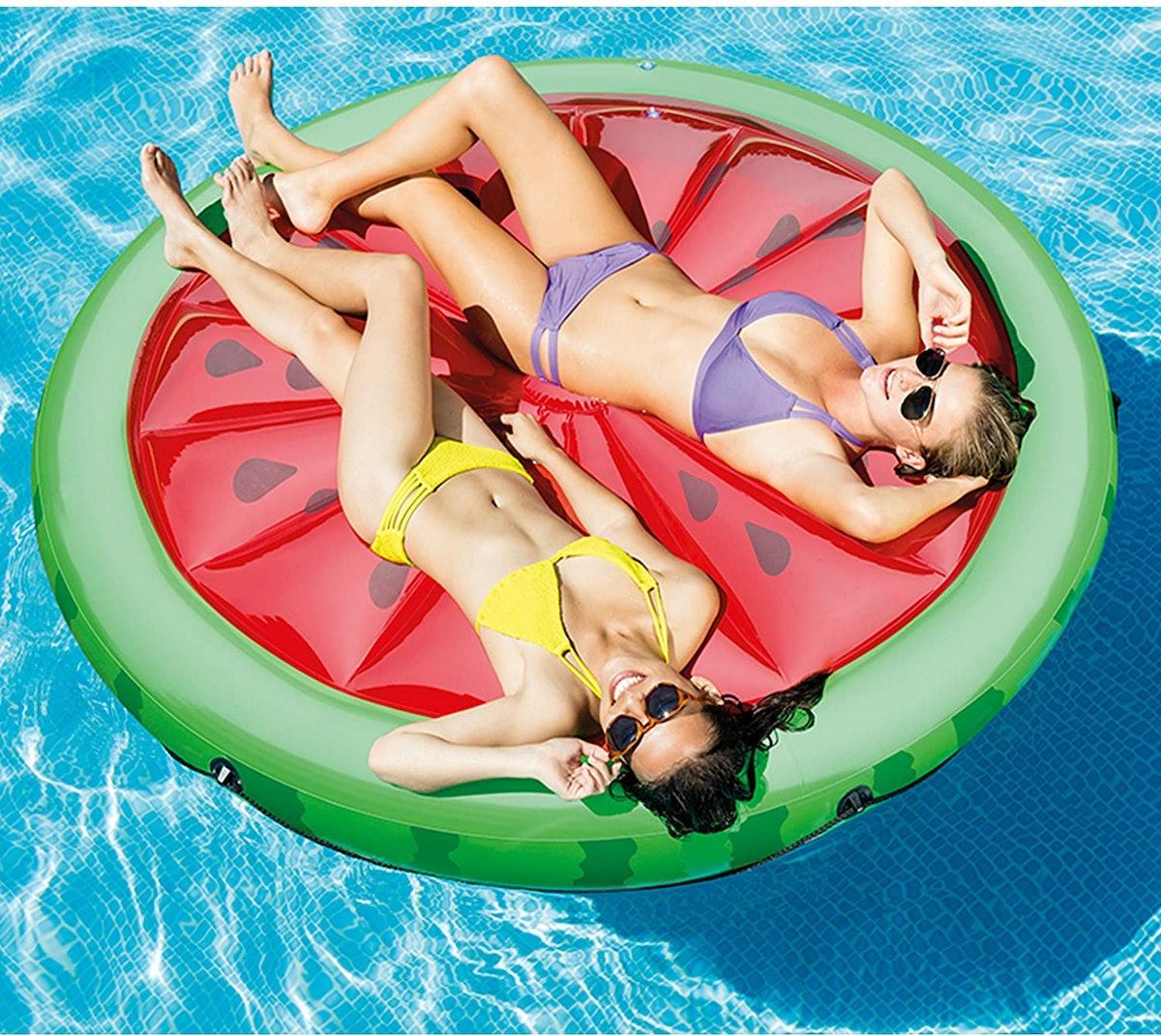 Intex Watermelon Inflatable Island