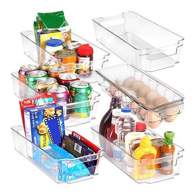 Utopia Home Pantry Organizers (Set of 6)