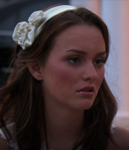 This headband (an all-white Hamptons classic) was worn at a pivotal time in the Chuck Bass and Blair Waldorf saga.