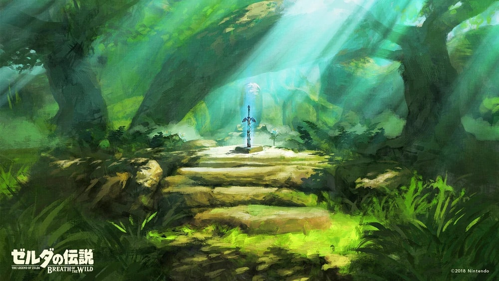 breath of the wild master sword