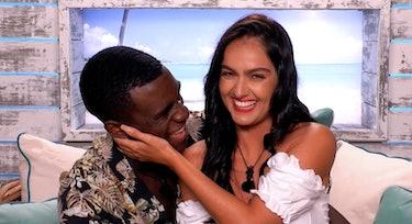 Siannise Fudge and Luke Trotman in Love Island Season 6.