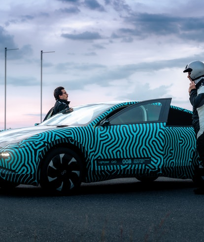 Lightyear's electric vehicle prototype with 441 miles of proven range. EV. EVs. Electric cars. Autom...