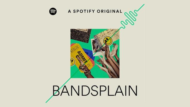 Bandsplain podcast logo