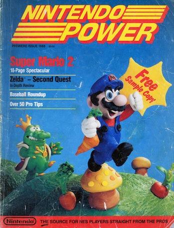 nintendo power first issue super mario bros 2
