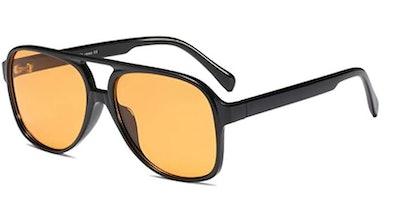 Freckles Mark Retro 70s Sunglasses