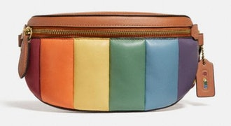 Bethany Belt Bag With Rainbow Quilting