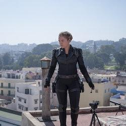 Florence Pugh stars as Yelena in 'Black Widow.'
