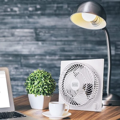 Black + Decker Tabletop Box Fan