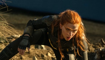 Scarlett Johansson as Natasha Romanoff in Black Widow