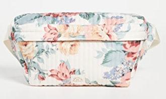 Loeffler Randall Shiloh Belt Bag In White/Floral