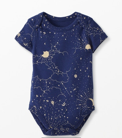 Baby Bodysuit In Organic Cotton