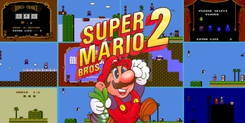 Super Mario Bros.2 Nintendo oficial