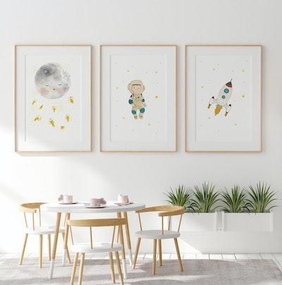 Nursery Print Decor