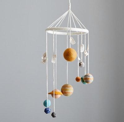 Planet Wool Hanging Mobile