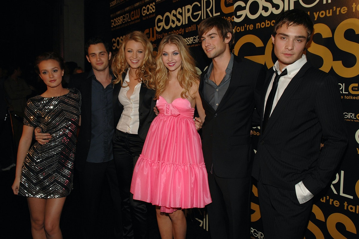 The cast of the original Gossip Girl.
