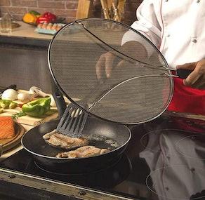 BergKoch Grease Splatter Screen for Frying Pan