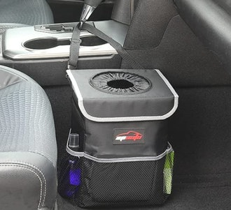 EPAuto Waterproof Car Trash Can with Lid
