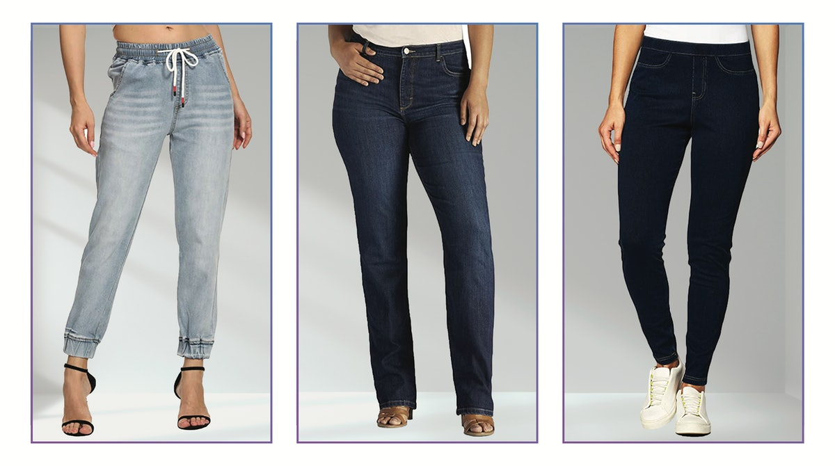 Best Jeans For Small Waists & Big Thighs