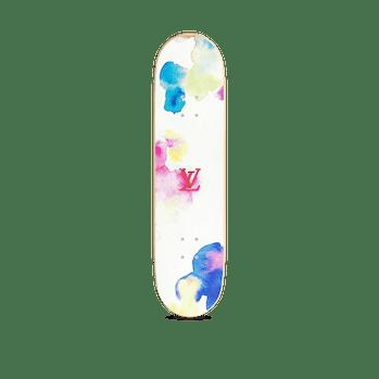 Louis Vuitton Watercolor Skateboard
