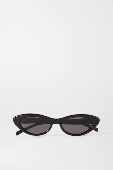 Small Cat-Eye Acetate Sunglasses