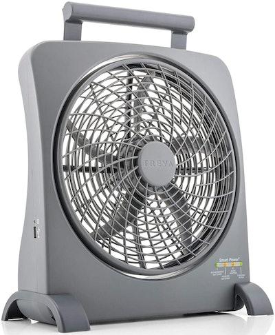 O2COOL Treva 10 Inch Smart Power Fan