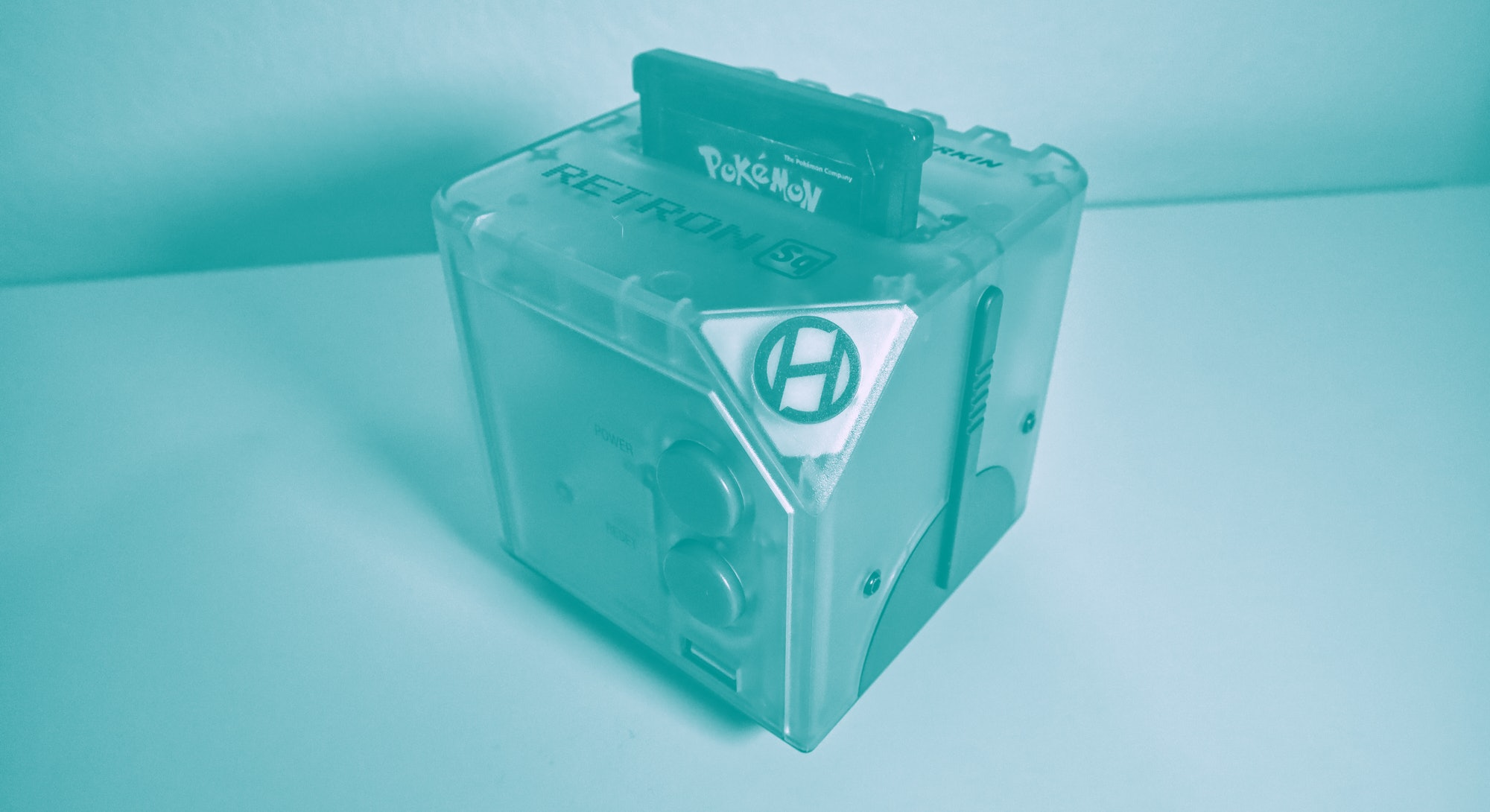 Hyperkin RetroN Sq cubed game boy video game console