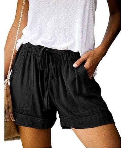 Dokotoo Drawstring Shorts with Pockets