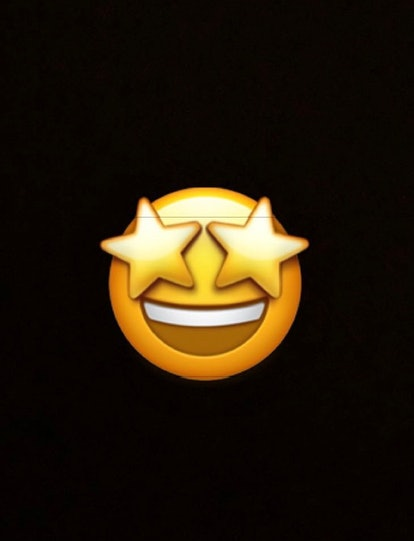 The starry-eyed emoji is great for an encounter with a celebrity, or if you're totally wowed.
