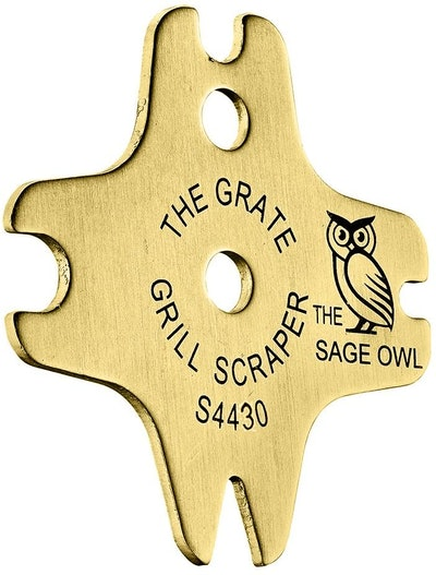The Sage Owl Brass Grill Cleaner