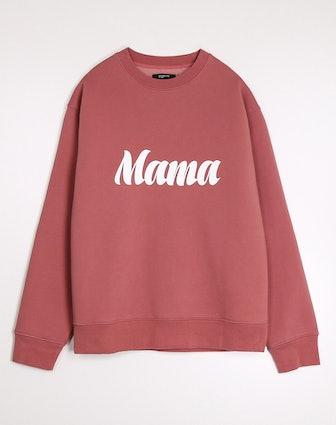 'Mama' Crew Neck in Rosewood