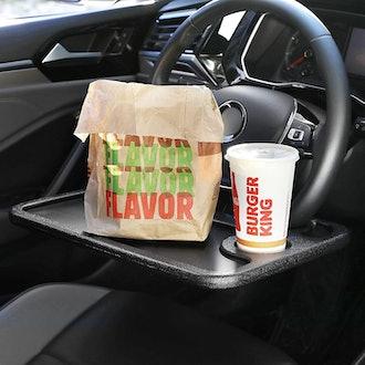 Cutequeen Steering Wheel Tray