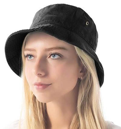 The Hat Depot Bucket Beach Sun Hat