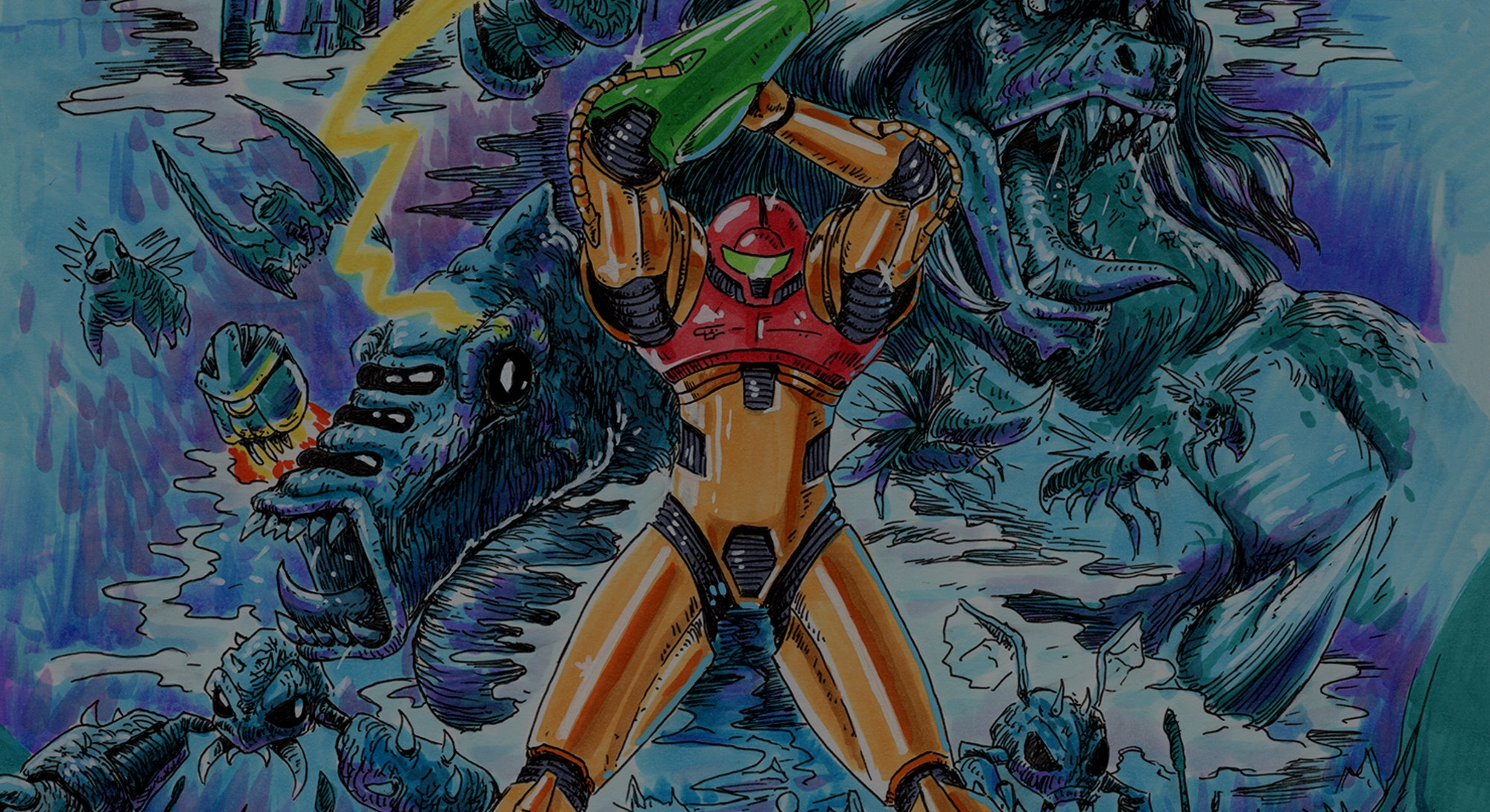 Cover image of Samus from Metroid