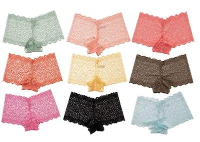 Alyce Intimates Lace Boyshorts (10-Pack)