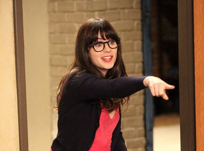 Zooey Deschanel made her TikTok debut by referencing 'New Girl.'