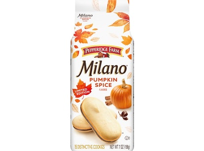 Here's where to buy Pumpkin Spice Milano Cookies for a fall treat.
