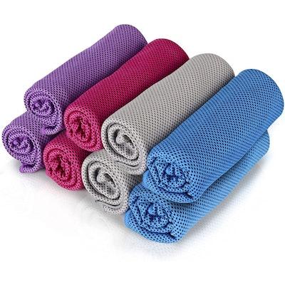 Icseio Cooling Towels (8-Pack)