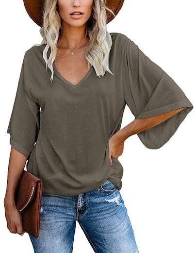 Cordat Bell Sleeve T-Shirt