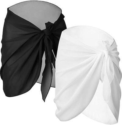 Chuangdi Beach Wrap Skirt (2-Piece)