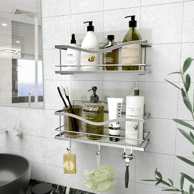 KINCMAX Shower Caddy (2-Pack)