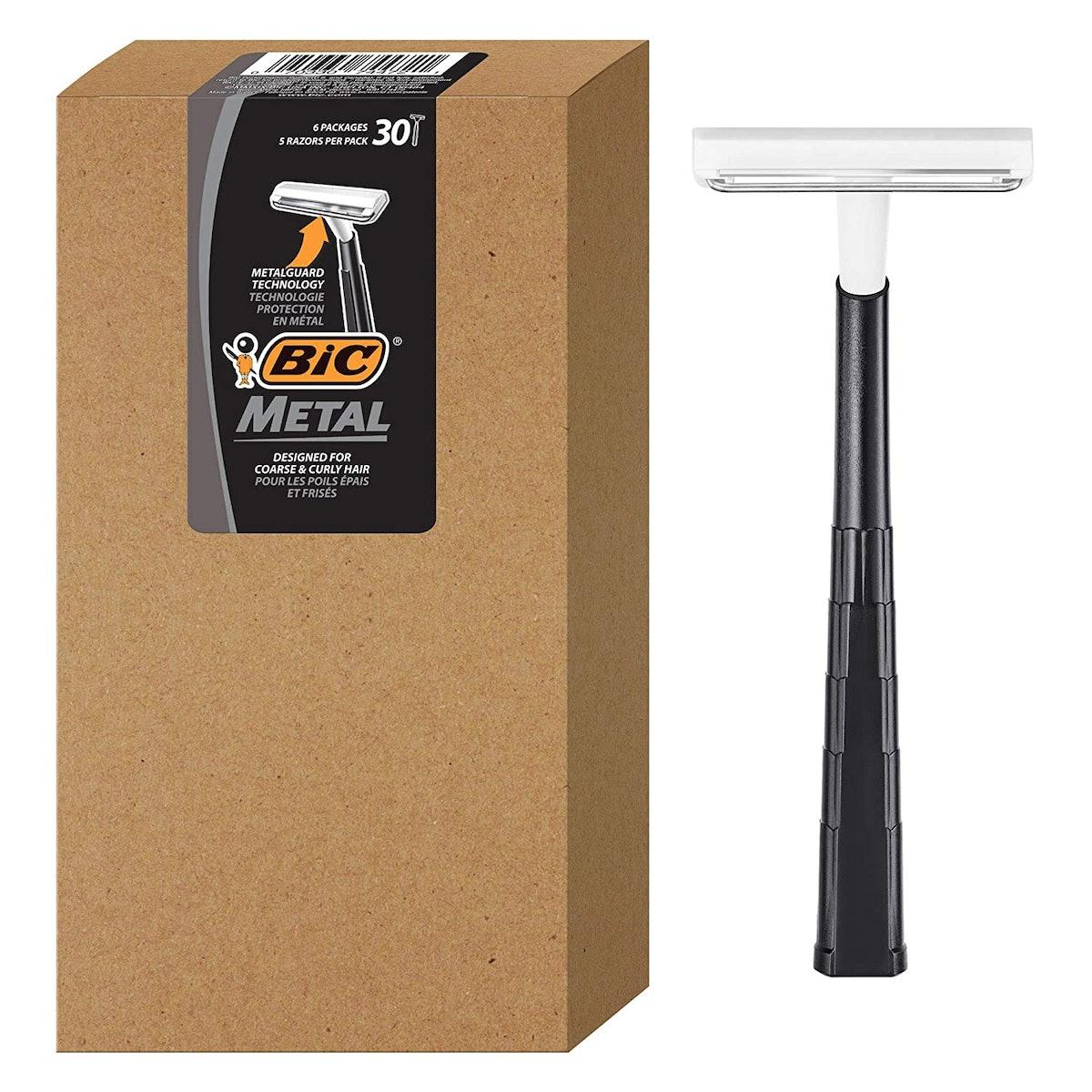 BIC Metal Disposable Shaving Razors (30-Pack)