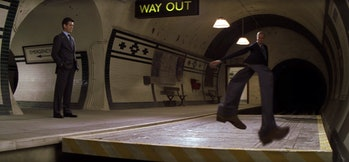 The invisible Aston Martin in Die Another Day.