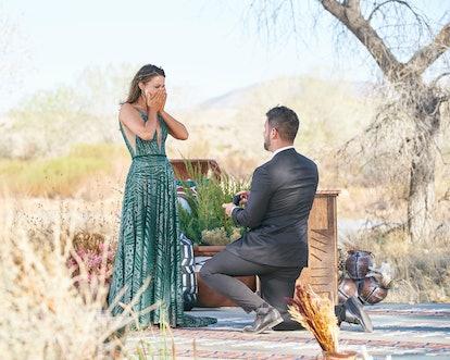 Katie Thurston and Blake Moynes proposal on Season 17 of ABC's 'The Bachelroette'